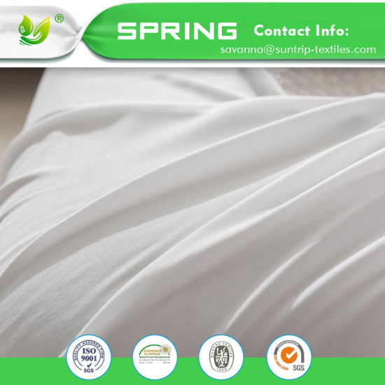 Waterproof Mattress Protector Breathable Fitted Sheet Dust Mite & Bed Bug Protection