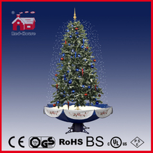 (40110U190-BS) Hot Selling Snowing Christmas Tree Craft Gift Christmas Decoration