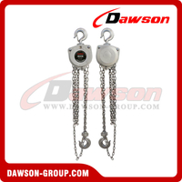 Totally Enclosed Stainless Steel Chain Block / Chain Hoist for Offshore Oil Platform