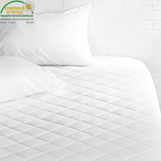 Bed Fitted 18 Inches Deep Pocket Premium Washable Vinyl Free Queen Waterproof Quilted Mattress Protector