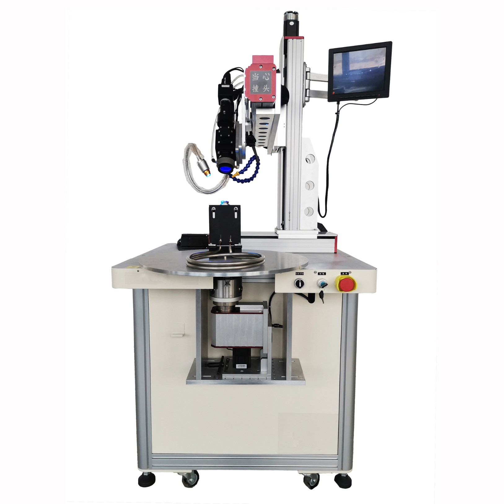 Laser Welding Machine for heating tube
