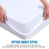 King Size Terry Hypoallergenic Waterproof and Breathable Mattress Protector