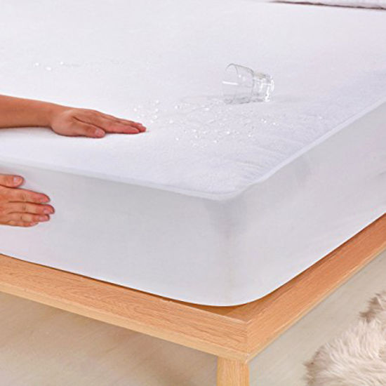 Premium Hypoallergenic Fitted Sheet Waterproof Mattress Protector