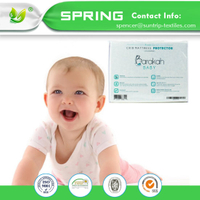 Hypoallergenic Bacterial Baby Waterproof Mattress Protector Cover Pat Mat
