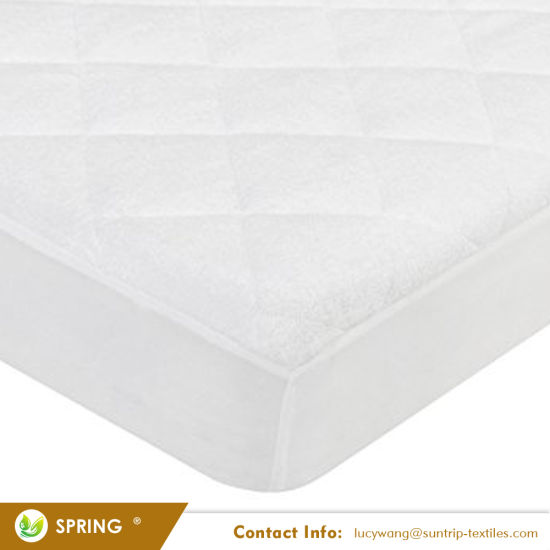 Waterproof Quilted Crib and Toddler Size Fitted Crib Mattress Cover
