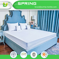 Queen Size Premium Zippered Waterproof Mattress Encasement Hypoallergenic Breathable Cover