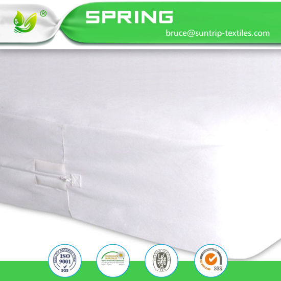 Premium Quality Cal-King Mattress Encasement - Zippered Six-Sided Cover 100% Waterproof