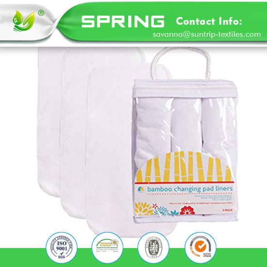 Waterproof Hypoallergenic Baby Waterproof Crib Pads Organic Cotton Incontinence Pad
