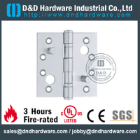 Stainless Steel 201 Double Security Hinge for Wooden Door with PVD -DDSS014