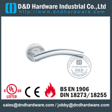 Stainless Steel 304 Hollow Bend T Shape Handle for Wood Door-DDTH005