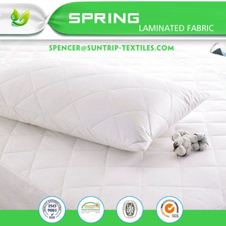 Cot Waterproof Mattress Protector Cover with a High Quality Brushed Cotton To...