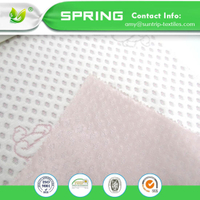200GSM 100% Polyester Anti-Bacterial Bleach White Laminated TPU Knitted Jacquard Mattress Fabric for Mattress