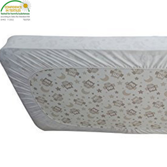 Baby Waterproof Crib Mattress Pad Cover