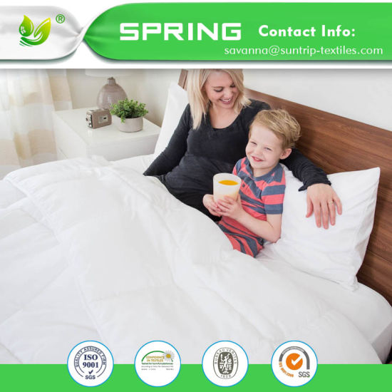 "Bed Bug Waterproof Zippered Vinyl Mattress Cover/Protector 9"" Encaemsent"