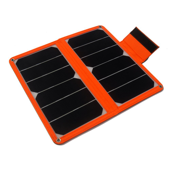 2x7w Portable solar charger