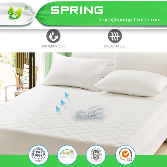 Quilted Double Single Super King Size Bed 4FT Small Double Mattress Protector