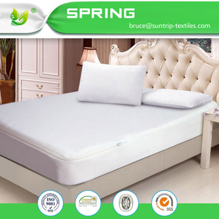 Waterproof Zippered Mattress Encasement Bed Bug Proof Cover Queen