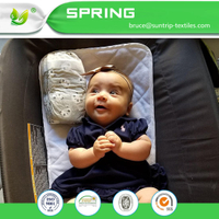 Infant Baby Waterproof Changing Pad Liners and Cover Baby Bed Pad