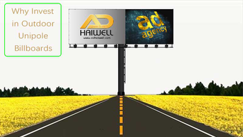 Why Invest in Outdoor Unipole Billboards