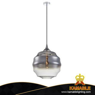 High Quality Smoky Grey Glass Sahde Pendant Lamp (AP9024-1)