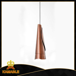 Brass Color Single Hanging Pendant Lamp (KAP17-063)