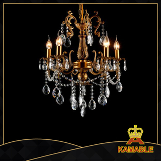 Unique style indoor decorative cast aluminum chandelier(9126-5L )