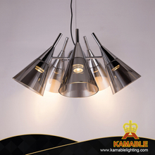 Modern Dining Room Glass Pendant Light (KAS8V121-5)