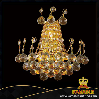 Delicate decorative crystal hotel wall lamp(YHwb2519-L3)