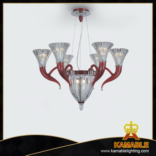 Murano style glass pendant chandelier(40050-8)