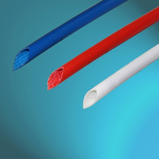 Outer Silicone Coated Fiberglass Braided Sleeving