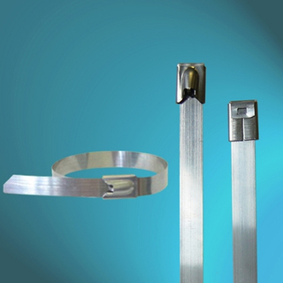 Uncoated Ball-lock Stainless Steel Cable Ties
