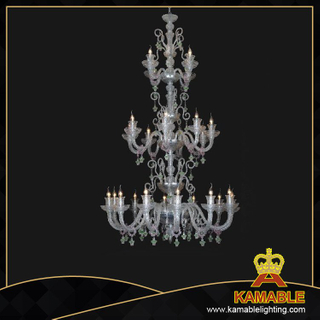 Project Glass Murano style chandelier(81126-12+8+4)