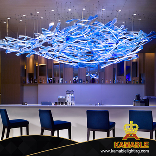 Custom-Made Project Decorative Hanging Glass Pendant Lamp (KAJ18005)