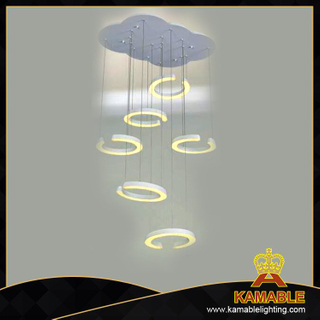 Modern indoor pendant hanging led lamp (KA9065-6C)