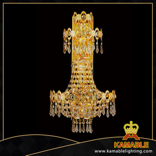 Sun chips crystal decorative hotel wall lamps(YHwb2536-L5)
