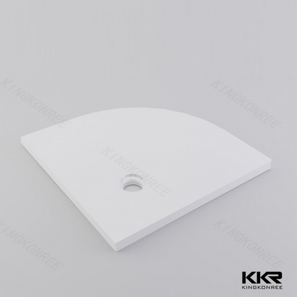 Triangle Solid Surface Shower Bases Kkr T008