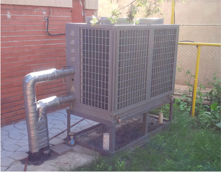 SPRSUN Air to Water Heat Pump Project Worldwide