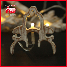 Little Deer Battery LED Light Deer Head Decorative Light Colored String Light