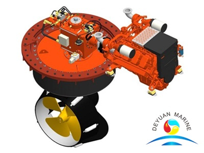Bv Approval Marine Z Drive Azimuth Thruster For Propulsion