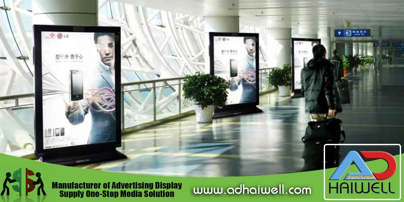 China Supplier Adhaiwell Werbung Lightbox