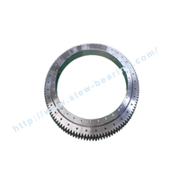 Single Row Four Point Contact Ball Slewing Bearing (01) External Gear turntable bearing for rotating platform and tower crane