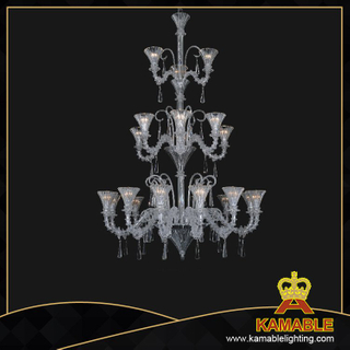 Murano style big project chandelier(81051-12+6+3)