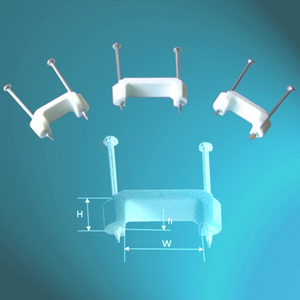 PE Cable Clips-Double Nail Type