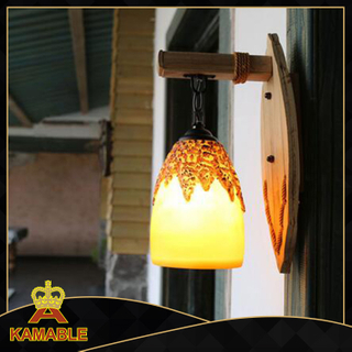 Cozy style indoor decorative wood wall lighting (KAMB - 7260C)