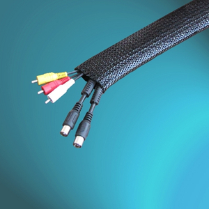 Flat Filament PA Braided Cable Sleeving