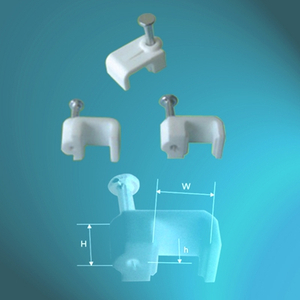 PE Cable Clips-Square Type