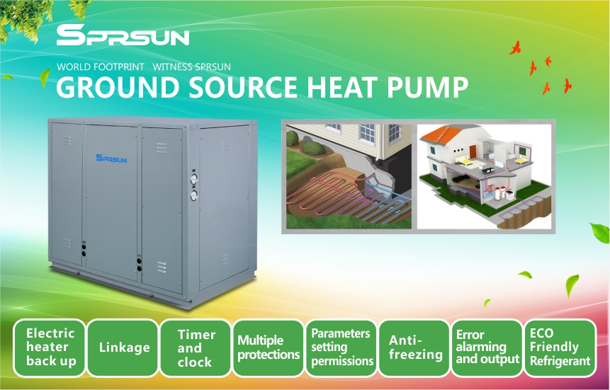 Ground Source Water to Water Heat Pump