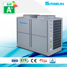 10P 75℃ hot water high temperature air source heat pump heating