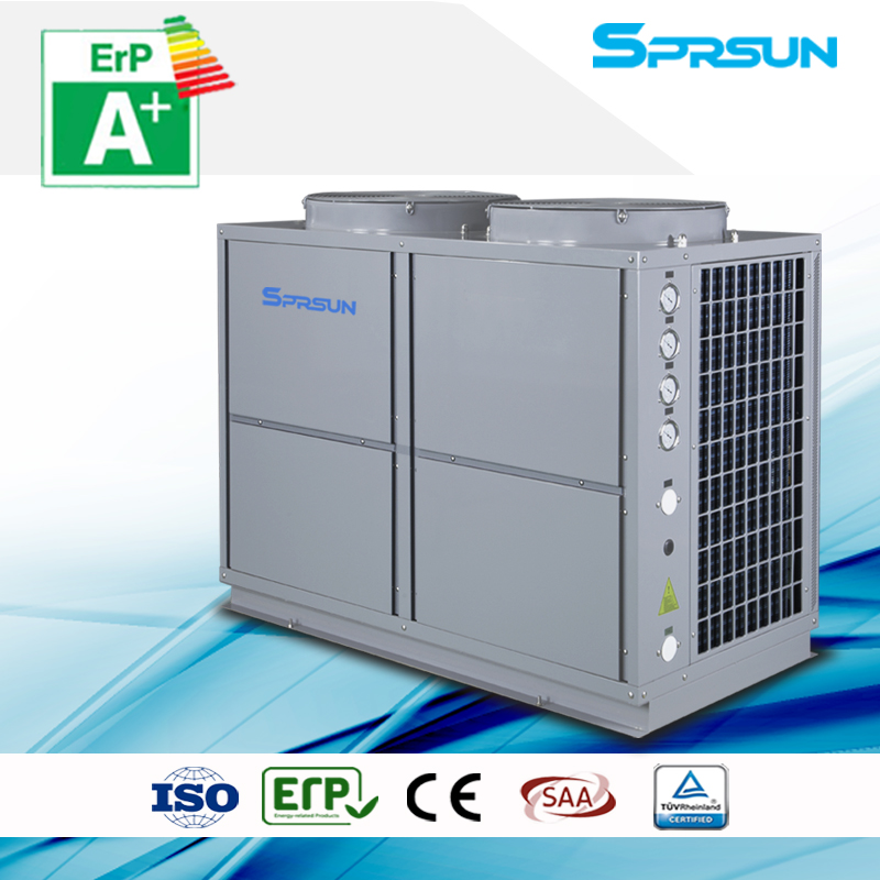 10P -25 ℃ EVI air source heat pump heating and cooling