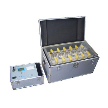 Six Cups Insulating Oil Dielectric Strength Tester IJJ-Ⅵ
